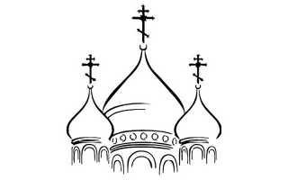 Какое значение имеет цвет куполов православных храмов