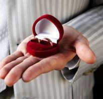Кто покупает кольца на свадьбу