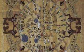 Какими часами пользовались в древнем Египте