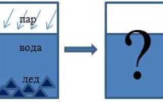 Чем определяется агрегатное состояние вещества