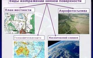 Чем топографический план отличается от географической карты