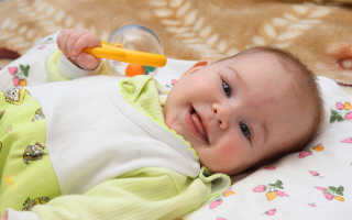 Что должен уметь ребёнок в 4 месяца