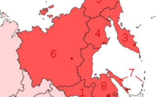 Что входит в состав Дальнего Востока