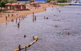 Где в Астане можно купаться