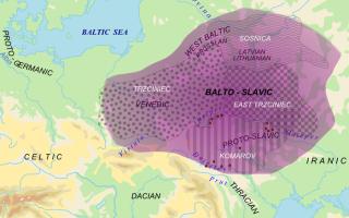 Какие языки относятся к славянским