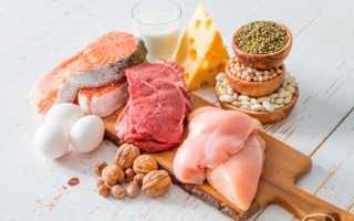 В каких продуктах содержится белок список продуктов