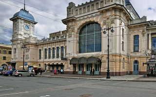 Какие вокзалы есть в Санкт Петербурге