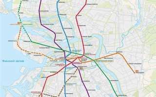 Какие новые станции метро открылись в СПб