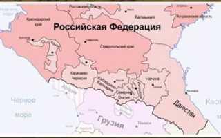 В чём особенности географического положения европейского юга