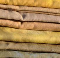 Какими натуральными красителями можно окрасить ткань