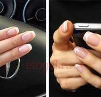 Как правильно рисовать френч на ногтях