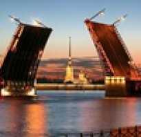 Какие мосты разводят в Санкт Петербурге