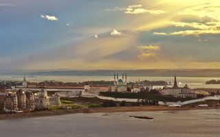 Где находится Казань