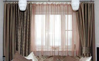 Как гладить шторы