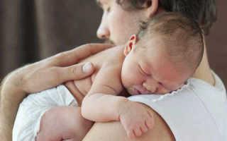 Как правильно держать новорожденного ребенка после кормления