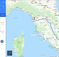 Как добраться из Пизы в Рим