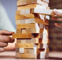Как играть в дженгу с кубиками
