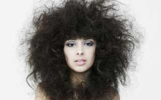 Что делать если волосы сухие и пушистые