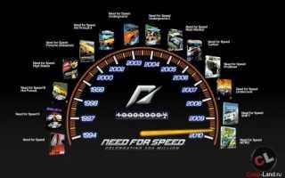 Лучшая часть Need for Speed