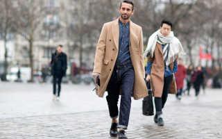 Какой головной убор подходит к мужскому пальто