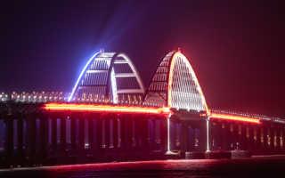 Какова протяженность Крымского моста