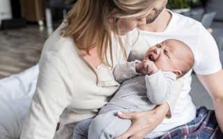 Как успокоить новорожденного ребенка во время истерики