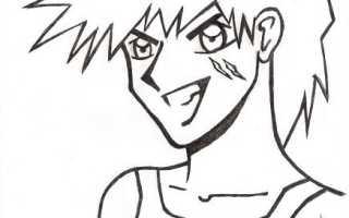 Как научиться рисовать аниме карандашом