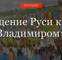 К чему привело крещение Руси