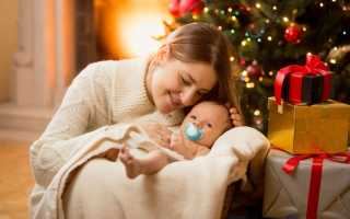Что приготовить на новый год кормящей маме