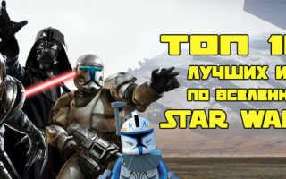 Лучшие игры по вселенной Star Wars