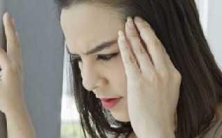 Что делать если кружится голова и тошнит