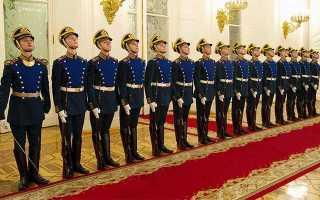 Как попасть служить в президентский полк