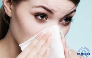 Чем лечить затяжной насморк у взрослого
