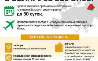 Нужен ли загранпаспорт для посещения Белоруссии