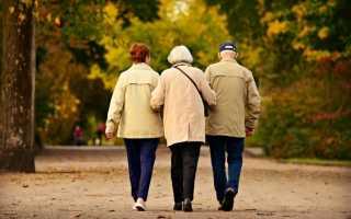 В каком возрасте мужчины выходят на пенсию