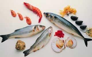 Какие морепродукты можно есть в пост