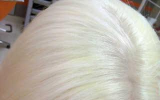 Как осветлить волосы перекисью
