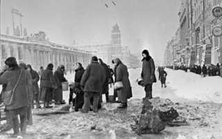 Был ли каннибализм в блокадном Ленинграде
