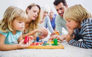 Какие бывают настольные игры для детей