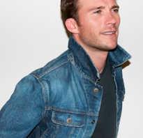 С чем парню носить джинсовую куртку