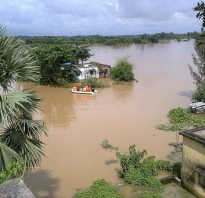 Что может стать причиной наводнения