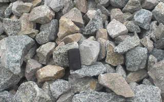 Где применяется бутовый камень