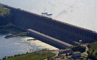 Крупнейшие ГЭС России располагаются в восточной Сибири