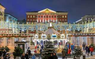 Как развлечься в Москве на новогодние праздники